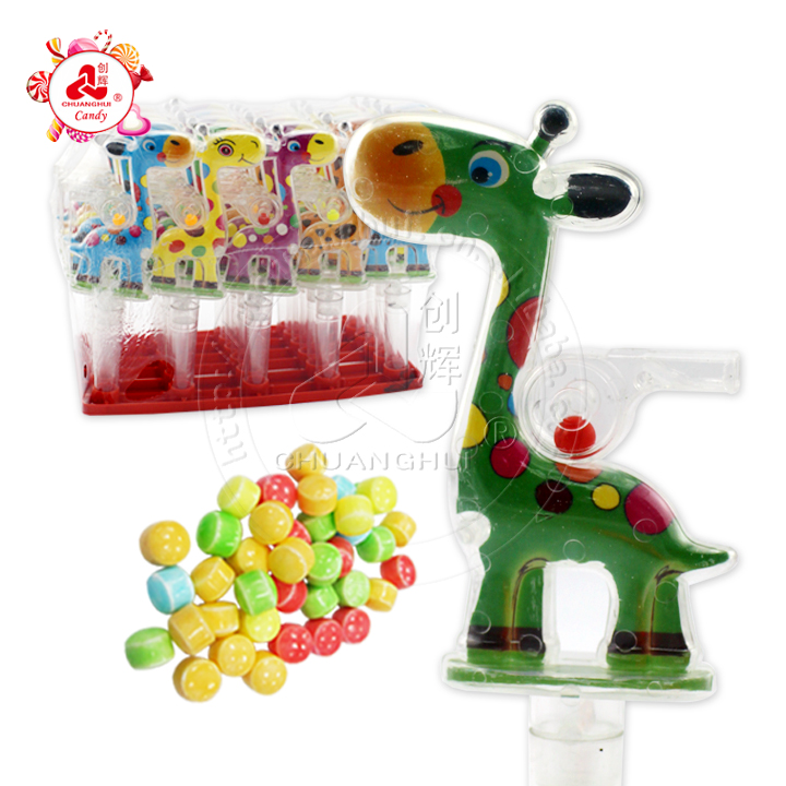 Giraffe Whistle Toys for Kid with Candy