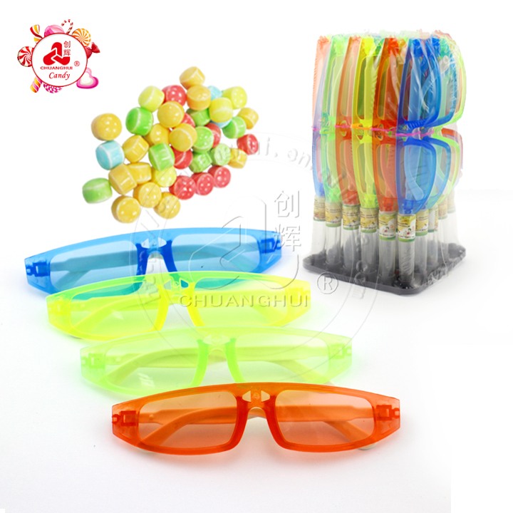 Plastic Eyeglasses Toys With Candy