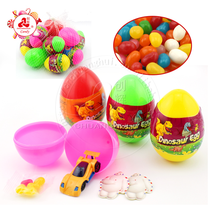 Big Surprise Dinosaur Egg Toy Candy for Kids