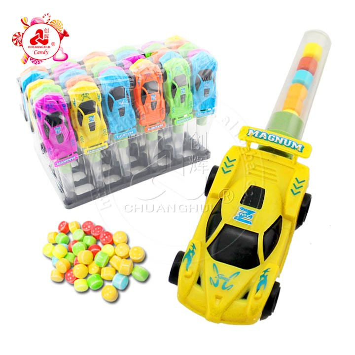 new plastic children candy toy Racing Car