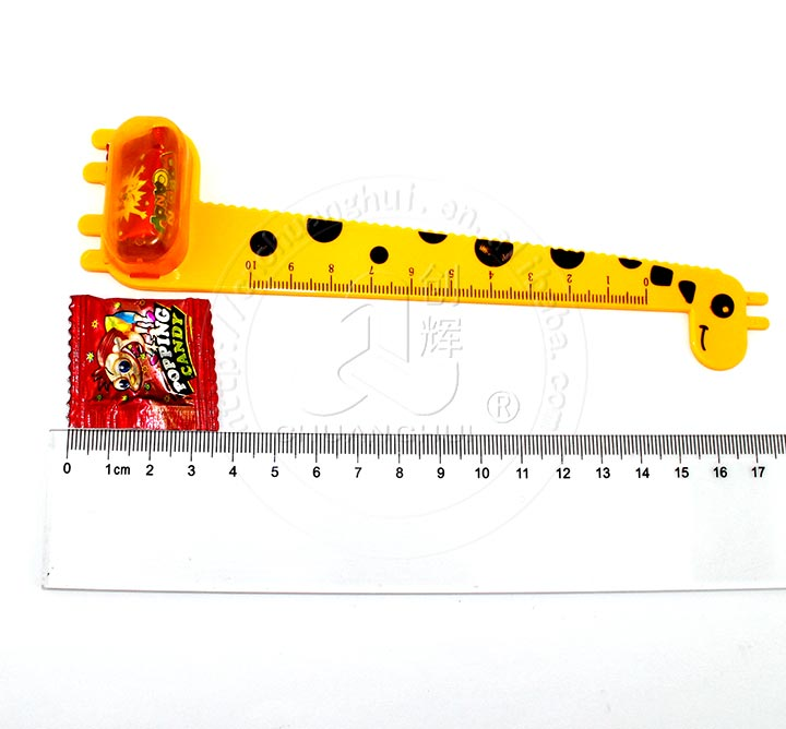 Office Supplies Stationery Cute Giraffe Ruler with popping candy toy Manufacturers, Office Supplies Stationery Cute Giraffe Ruler with popping candy toy Factory, Supply Office Supplies Stationery Cute Giraffe Ruler with popping candy toy