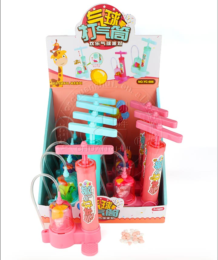 Interesting balloon inflator toy candy Manufacturers, Interesting balloon inflator toy candy Factory, Supply Interesting balloon inflator toy candy