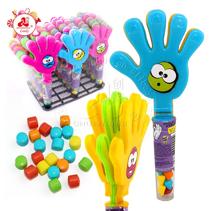 Smiley Face Small Hand Clap Toy Candy pour enfant