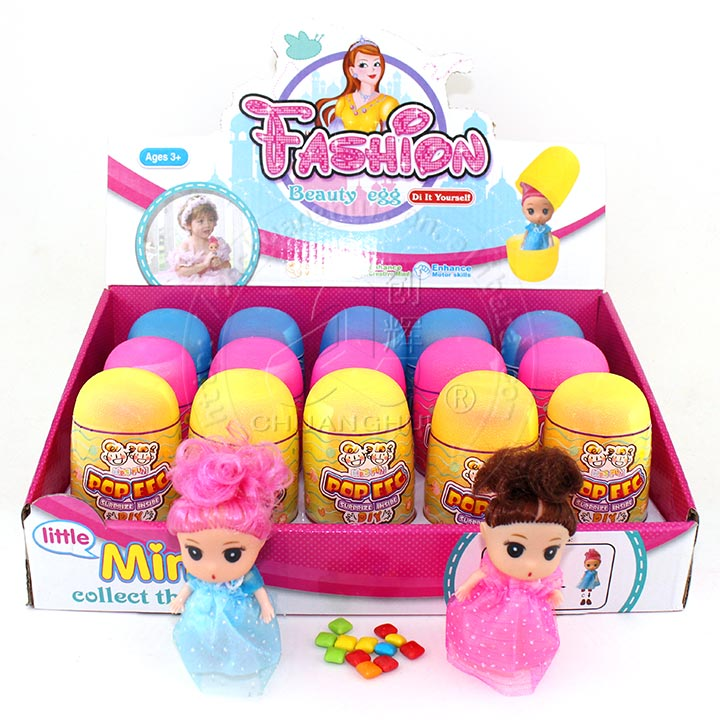 Plastic colorful surprise eggs toy candy with Capsule Exquisite mini dolls Manufacturers, Plastic colorful surprise eggs toy candy with Capsule Exquisite mini dolls Factory, Supply Plastic colorful surprise eggs toy candy with Capsule Exquisite mini dolls