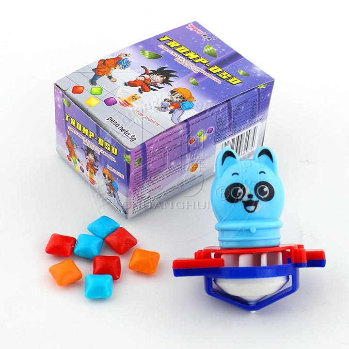 Kids Blowing Whistle Peg-top Toy Animal Gyro Toy with mini bubble gum candy in the box Manufacturers, Kids Blowing Whistle Peg-top Toy Animal Gyro Toy with mini bubble gum candy in the box Factory, Supply Kids Blowing Whistle Peg-top Toy Animal Gyro Toy with mini bubble gum candy in the box