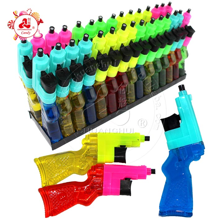 2019 Small Toy gun shaped spray candy