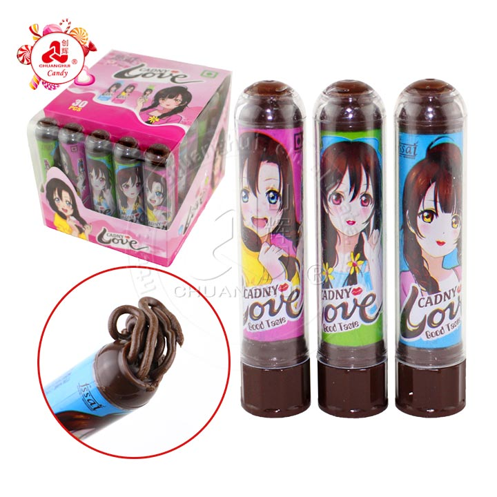 2019 High quality Crazy hair lipstick jam candy / Chocolate love lipstick candy