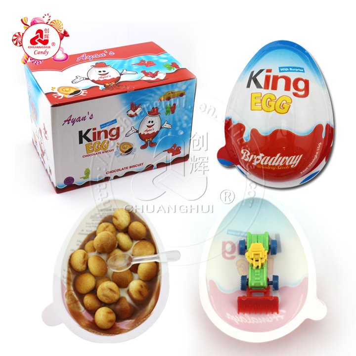 15g Chocolate Surprice Egg with Toy