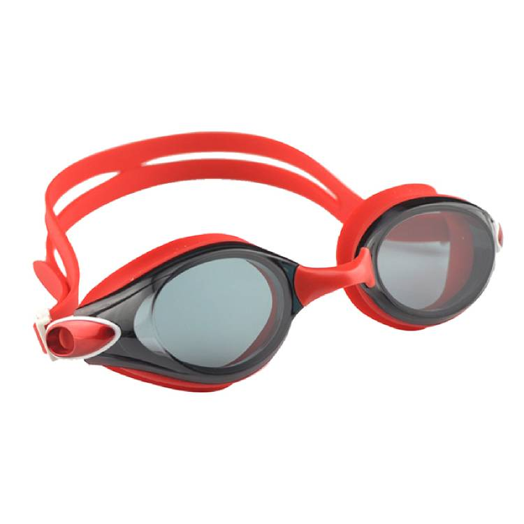 Automatic adjust head strap customized REVO color recreational swimming glasses CF-6900