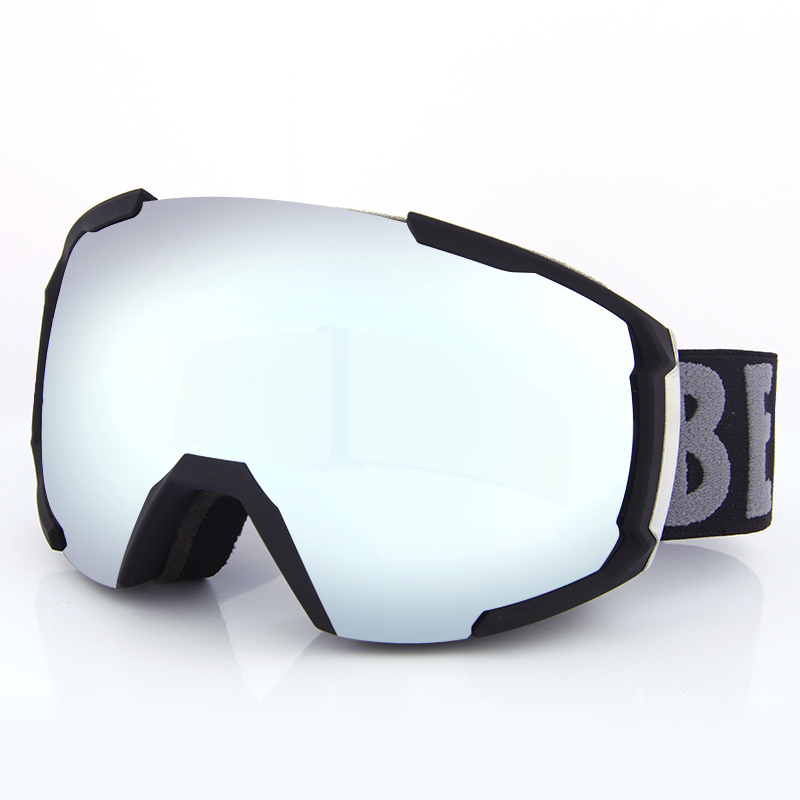 China factory custom skate helmet double lens glasses new design ski goggles SNOW-2100