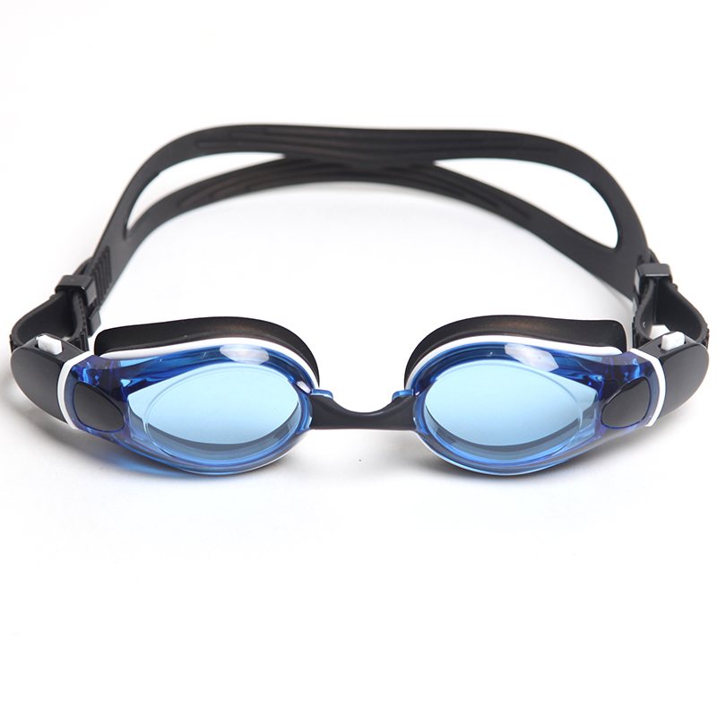 Customized mirriored coating patented swimming goggles CF-9400