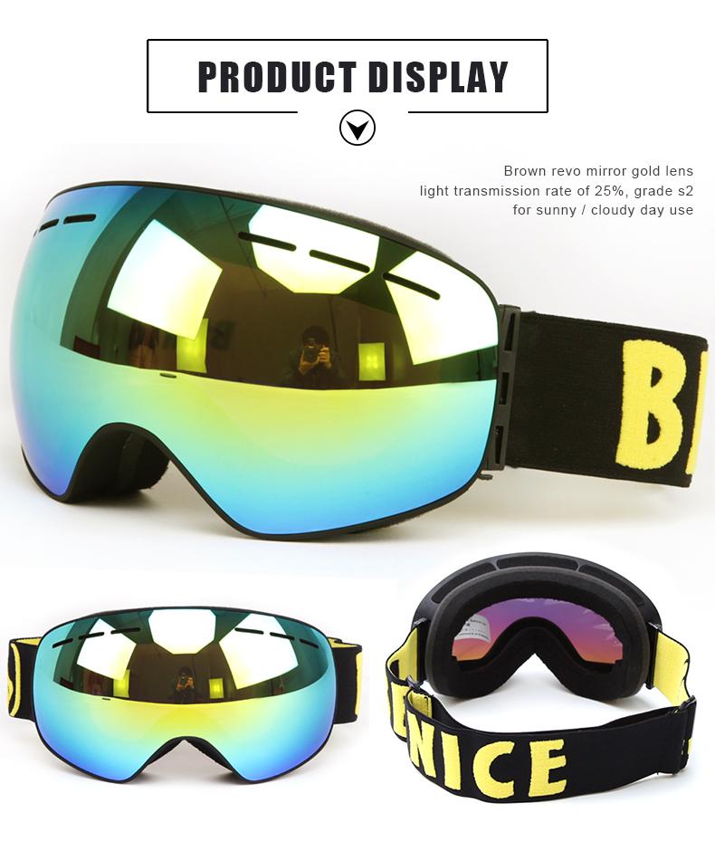 winter snow goggles