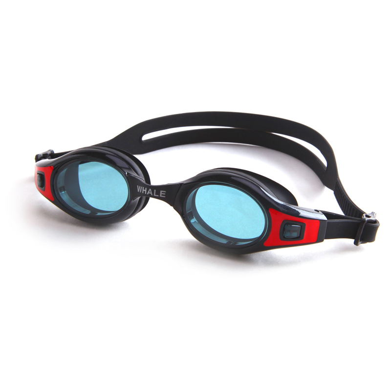 WHALE Mini custom logo swim goggles CF-11000