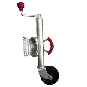 1000LBS swing Trailer Jack Wheel zincatura superficiale
