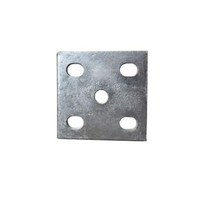 Boat Trailer Tie Plate With Slot Holes