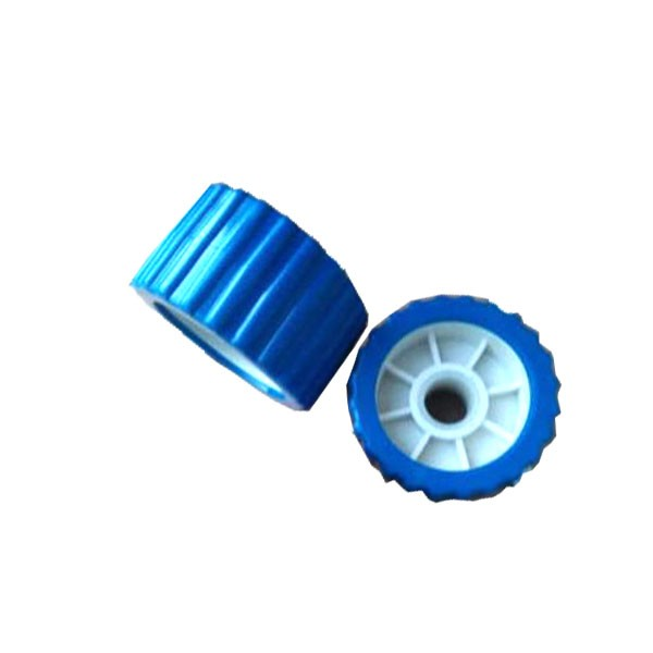 Boat Trailer Wobble Roller Blue