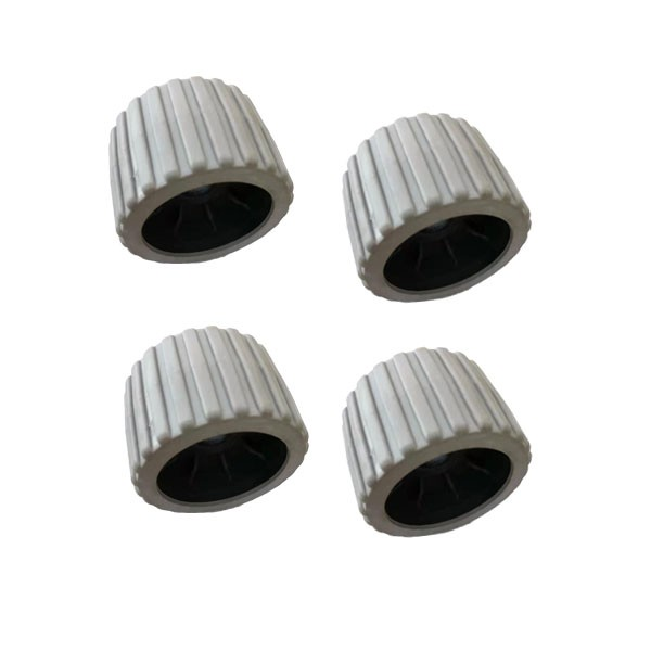Boat Trailer Wobble Roller Gray Color