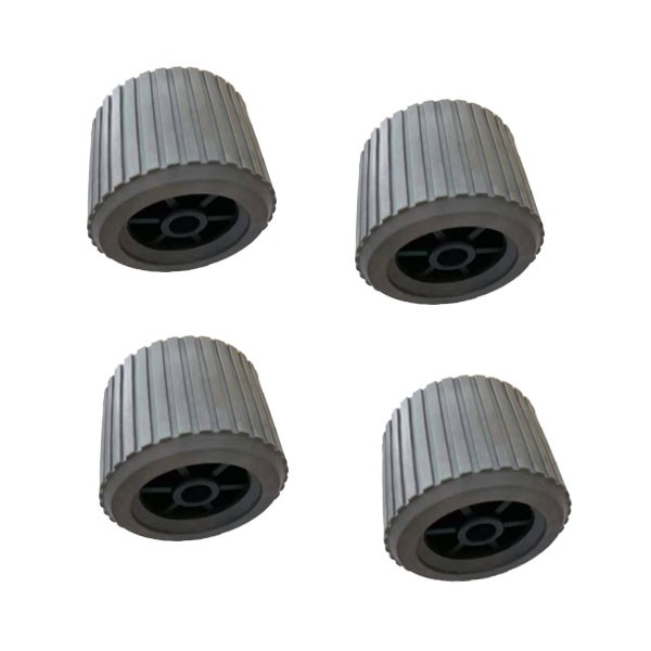 Gray Color Boat Trailer Wobble Rollers