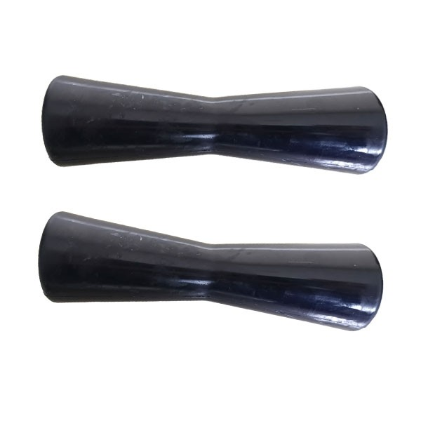 Black Color Boat Trailer Keel Roller 198mm Long