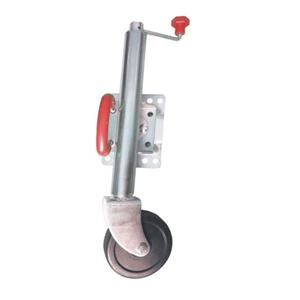 750LBS Swivel Trailer Jockey Wheel With Solid Rubber Wheel