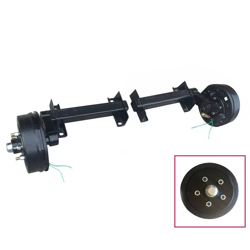 Trailer Torsion Axle With Electric Brake 1500KGS 3300LBS Manufacturers, Trailer Torsion Axle With Electric Brake 1500KGS 3300LBS Factory, Supply Trailer Torsion Axle With Electric Brake 1500KGS 3300LBS