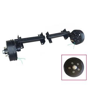 Remolque el eje de torsión con freno eléctrico 2000kgs 4400LBS