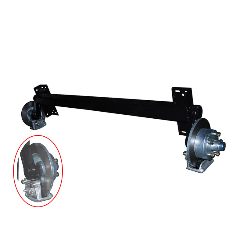 trailer torsion axle