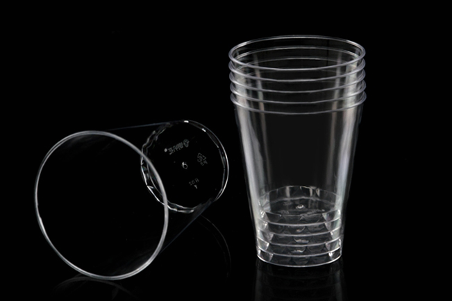 Transparent Hard PS Plastic Cups