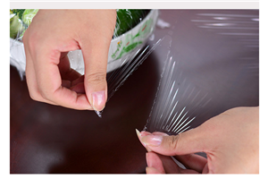Small Roll Point Broken Type Plastic Wrap