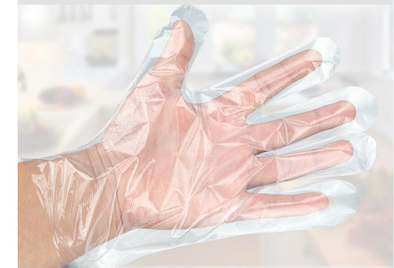 Transparent Box-Packed PE Gloves