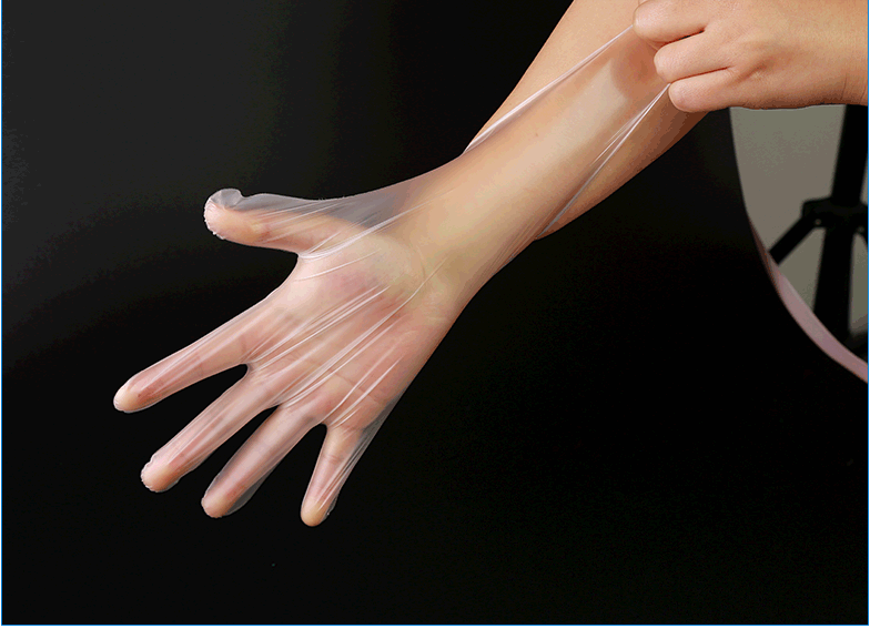 Disposable TPE Gloves For Beauty Care