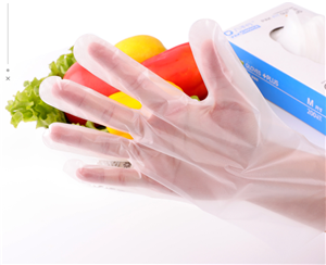Non-Slip Disposable CPE Gloves