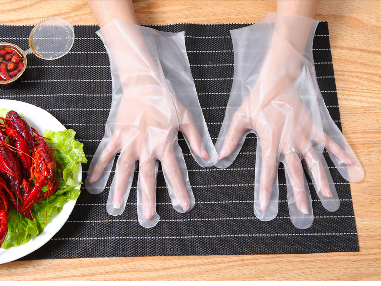 Kitchen Disposable CPE Gloves