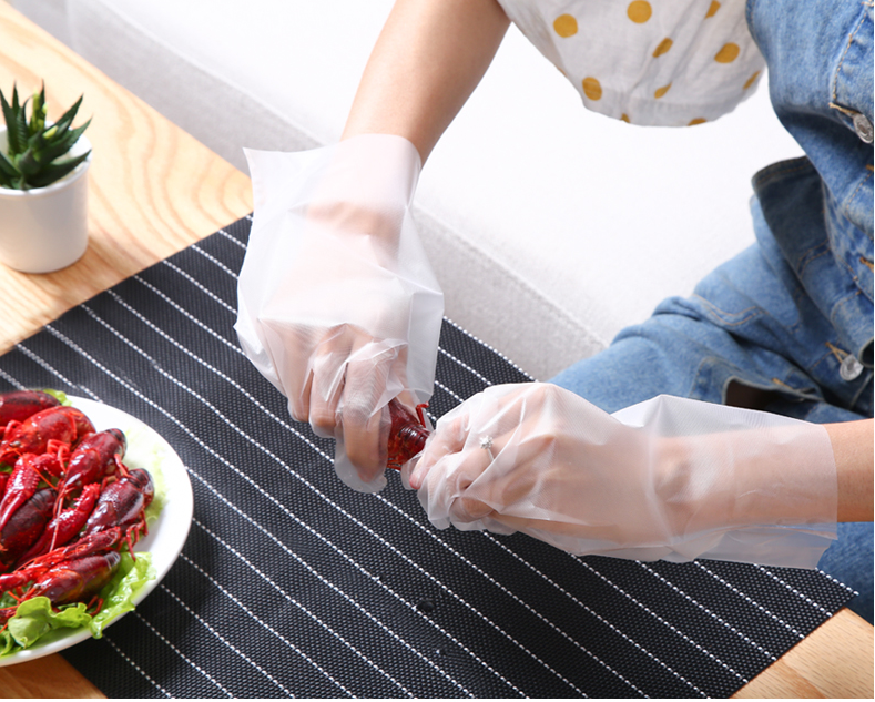 Catering Disposable CPE Gloves