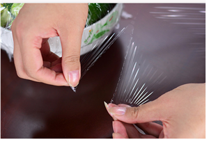 Small Roll Point Broken Style PE Cling Film