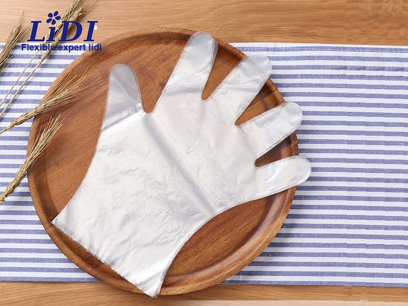 Disposable Children's PE Gloves