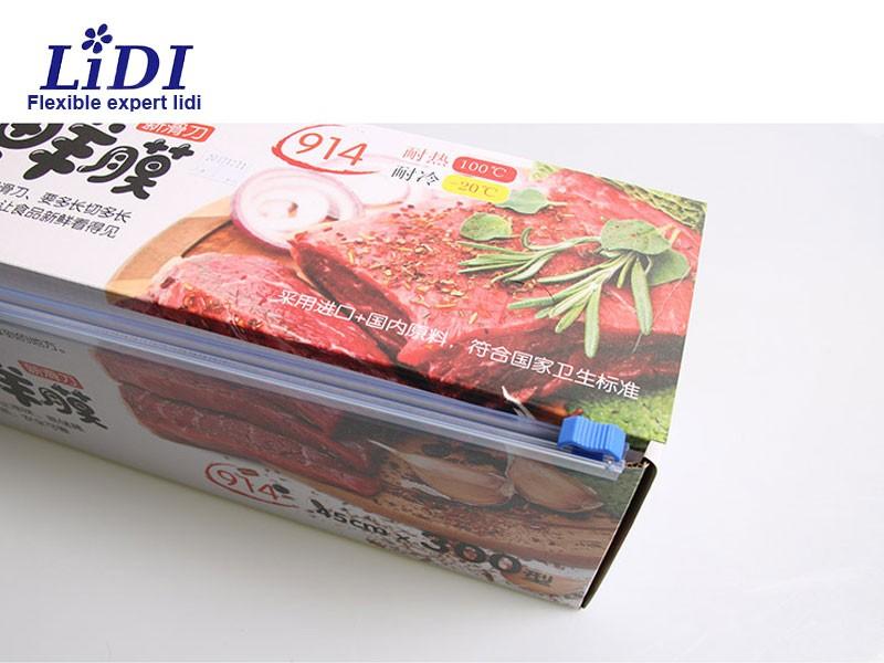 Food Grade Slide Cutter PE Cling Film