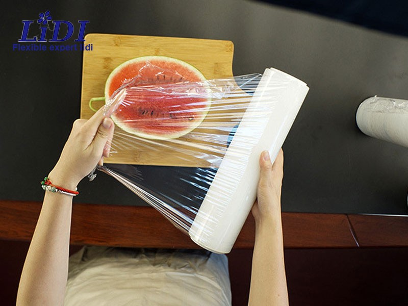 Stretch Resistant Point Broken Type Plastic Wrap