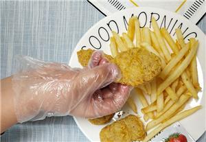 Thickening Children's PE Gloves
