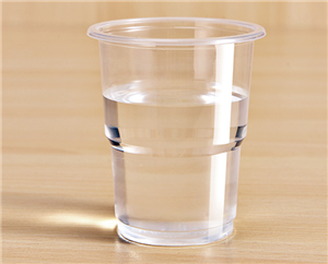 Hard PS Plastic Water Cups