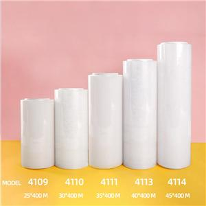 Large roll food grade PE cling film