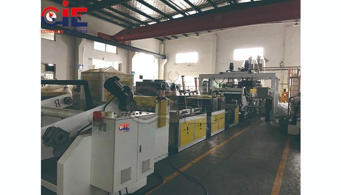 Twin Screw PET Plastic Sheet Extrusion Machine