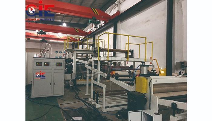 ABS / HIPS Board Extruder Machine