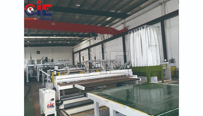 PC PMMA GPPS Plastic Extruder Machine