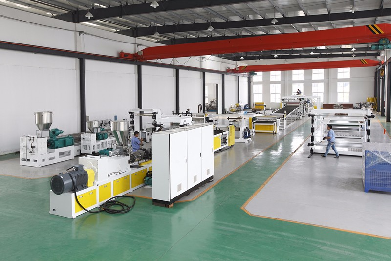 Plastic Corrugation Sheet Extrusion