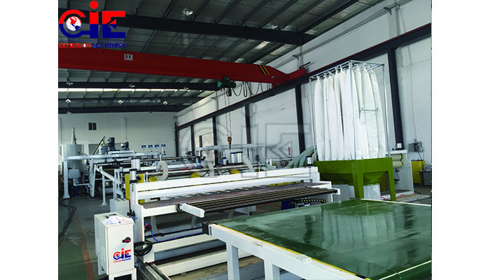 Sheet Plastic Extrusion Line