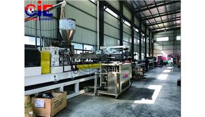 Automatic PE PS Sheet Extrusion Line