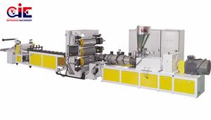 PVC Plastic Sheet Extruder Machinery