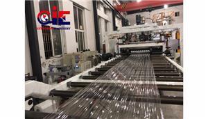 PC Corrugation Plastic Extrusion