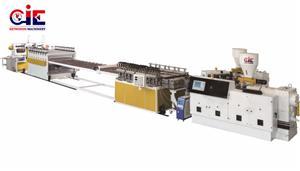 PVC Free Foam Plastic Extruder Machine